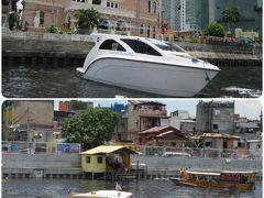 マニラ Pasig River Ferry に乗船せり~