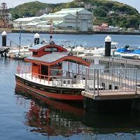 叶神社(西・東)と渡し船
