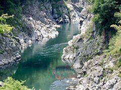 愉快リゾートのバスを利用して下呂温泉へ 飛騨川の絶景を楽しみながら~♪