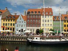 夏の北欧4か国 10日間のツアー旅行 3 2日目 コペンハーゲン~北海を船でオスロへ
