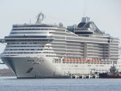 西地中海クルーズ(1)・・イタリアのカジュアルクルーズ船、MSCファンタジア号の乗船記です。
