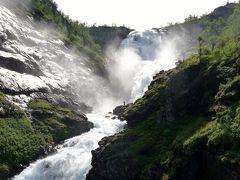 夏の北欧4か国 10日間のツアー旅行 6 5日目 ベルゲン鉄道とフロム鉄道~ソグネフィヨルド~スタルハイム