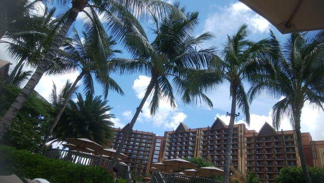 6歳9ヶ月の娘との家族旅行です。<br />小学生になったので夏休みにハワイと思っていたのですが<br />パパがお盆しか休めないので航空券がものすごく高い!<br />しかも今年は親の事情ですが。。。<br />大好きなサザンオールスターズが祝・40周年なので<br />夏の日程にライブがある可能性大ということで<br />今年もGWに行くことになりました。<br /><br />アウラニの番外編はこちらです↓<br />https://4travel.jp/travelogue/11360066<br /><br />1日目はこちらです↓<br />https://4travel.jp/travelogue/11359757
