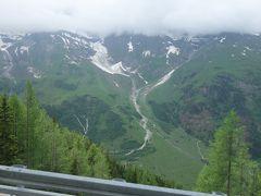 カイザー・フランツ・ヨセフス・ヘーエから,グロースグロックナー山岳道路をザルツブルクへ走る。