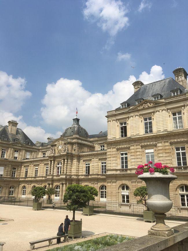 人生5度目のパリは、なるべく今まで行ったことが無い所へ行きました。<br />今回初めてロワシーバスにしてオペラ周辺のホテルにしましたが、パリ中心部なだけに、どこに行くにも、お買い物にも便利でした。