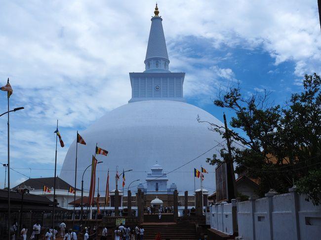 6月5日(火)晴れ。<br />この日はスリランカで一番楽しみにしていたアヌラーダプラ観光です。<br />BC.377年、パンドゥカーバヤ王がアヌラーダプラを建設、首都と定めて以来、1073年にヴィジャヤバーフ1世がポロンナルワに首都を移すまで、途中変遷はあったものの、なんと1400年以上スリランカの都だった場所。マハーワンサのほぼ全ての舞台、チューラヴァンサでも3分の1がアヌラーダプラ時代となれば期待が高まります。<br />ミヒンタレーは長老マヒンダ(インド・マウリヤ朝アショーカ王の息子)によりスリランカに仏教がもたらされた場所、ぜひこの目で確かめたいと思いました。<br /><br />〈旅程〉<br />6月 3日 成田→ニゴンボ              ニゴンボ泊<br />6月 4日 ニゴンボ→ダンブッラ→ピドゥランガラ   シギリヤ泊<br />6月 5日 アヌラーダプラ→ミヒンタレー       シギリヤ泊<br />6月 6日 ポロンナルワ→シギリヤロック       シギリヤ泊<br />6月 7日 シギリヤ→マータレー→キャンディ     キャンディ泊<br />6月 8日 キャンディ→ゴール            ゴール泊<br />6月 9日 ゴール→コロンボ             コロンボ泊<br />6月10日 コロンボ発                機内泊<br />6月11日 成田着