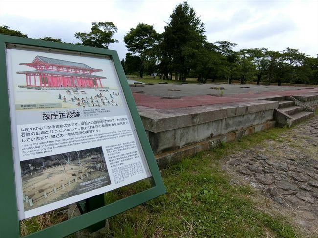 100名城にも選定されている多賀城へ。