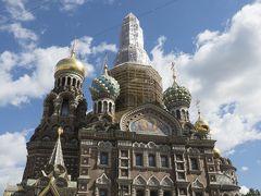 母娘でサンクトペテルブルクへお気楽旅行2.まずはガイドさんと市内観光
