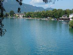 ザンクト・ヴォルフガング。美しい湖畔の街。息を飲む美しさです。