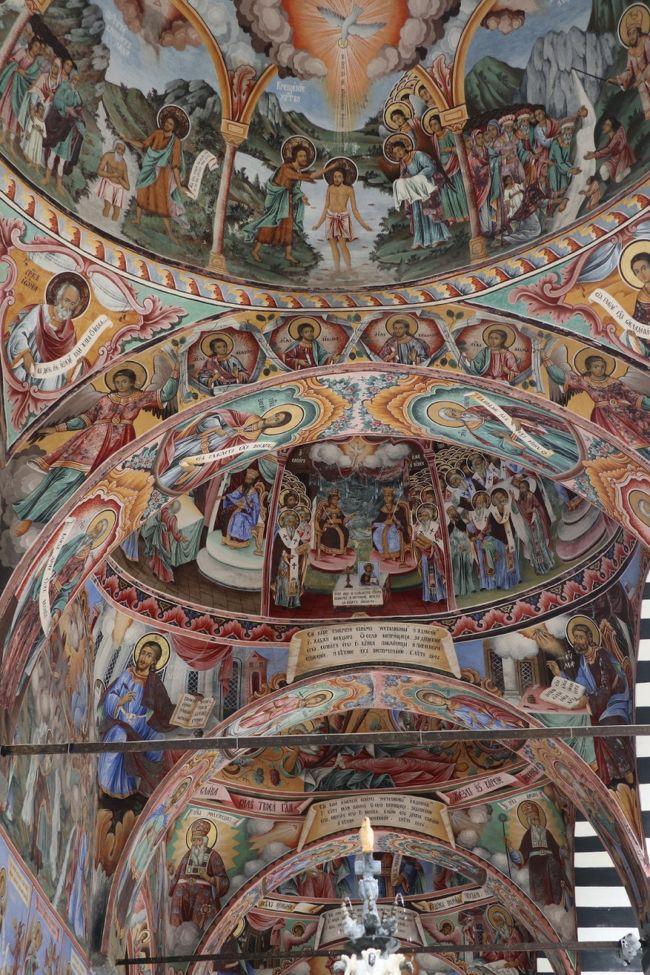 2018 牧歌的なヨーロッパの原風景とビザンチン芸術を堪能 (8) リラの僧院