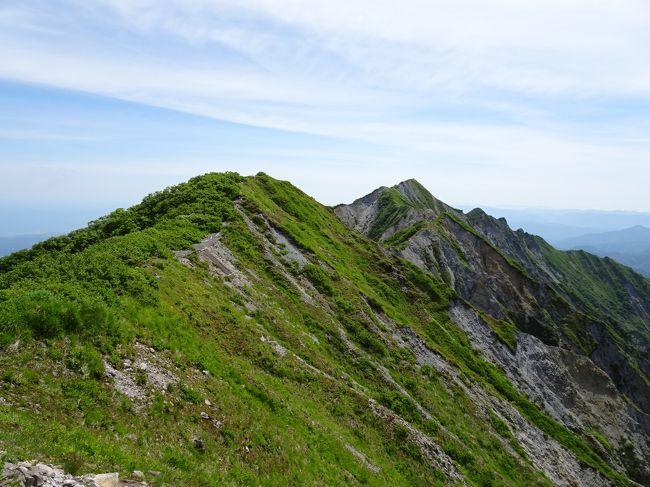 伯耆大山登山(夏山登山道~弥山~行者登山道)