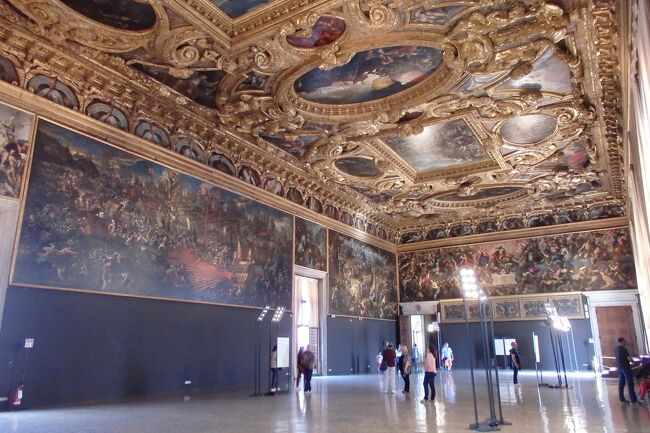 2018.05 GWに巡るイタリア三都物語(13)ヴァポレットで巡る水の都・ヴェネチア共和国の中枢、ドゥカーレ宮殿へ