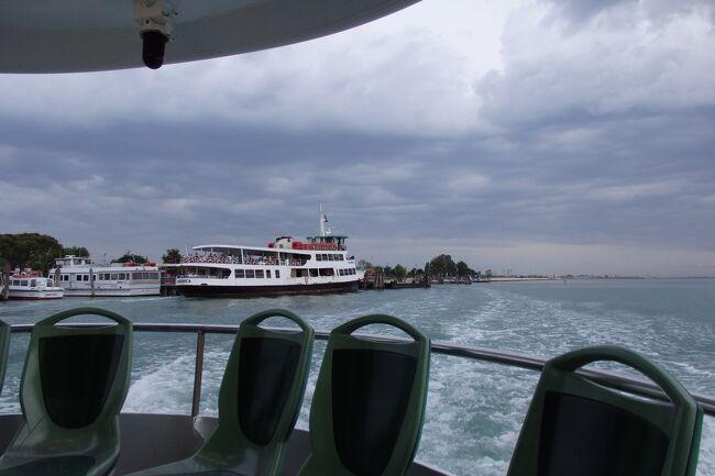 2018.05 GWに巡るイタリア三都物語(15)ヴァポレットで巡る水の都・船を乗り継ぎブラーノ島へ。