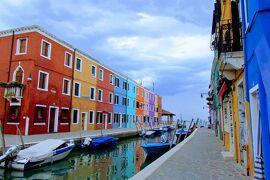 2018.05 GWに巡るイタリア三都物語(16)ヴァポレットで巡る水の都・カラフルなブラーノ島の街並みを歩こう。