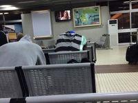 空港で薬物検査