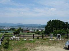 葛城から見た吉野と明日香等大和青垣の箱庭を遠望する絶好の場所
