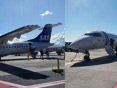 SAS機でストックホルム⇔タリン往復