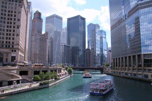 名建築や高架鉄道、跳ね橋で有名なシカゴへ街歩きに行ってきました。<br />出不精で一生日本から出ることは無いなーと思っていた私でしたが、<br />とある機会をいただき、人生初の海外!<br />この旅行は私の物の見方や考え方をガラリと変えてくれました。<br />シカゴの後はワシントンに行きましたが、ワシントンの旅行記は別途作成予定。<br />7月6日 成田10:45発→7月6日 シカゴ オヘア8:20着(ANA/NH012便)<br /><br />7月9日 シカゴ オヘア10:00発→ワシントン ロナルドレーガン12:51着(UA3548便)<br /><br />