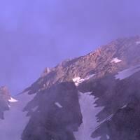 岳沢と上高地でテント泊。
