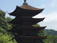 山口市 (雪舟庭と瑠璃光寺の五重塔)