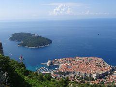 アドリア海の美しい街、ぐるっと満喫②ドゥブロヴニク城壁遊歩道は最高のアトラクション!
