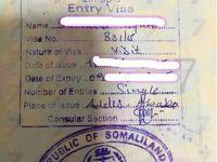 ソマリランドビザ