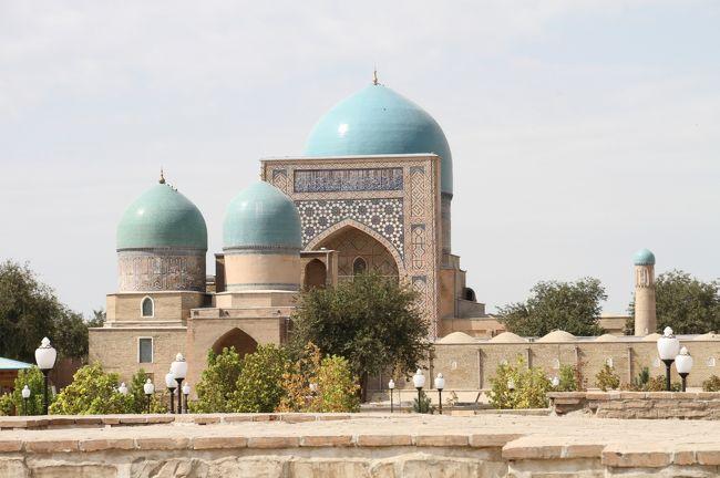 チャーター直行便で行くウズベキスタン周遊の旅 7  ティムールの故郷シャフリサーブス2