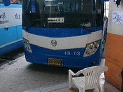 タイ、バンコクからパタヤへ格安108バーツで行ってみた、、