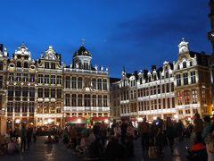 転職記念!?でヨーロッパ周遊 その13 夜のグランプラスは美しい!