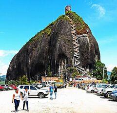 団塊夫婦5回目の世界一周絶景の旅―コロンビア編(2)巨岩からの絶景・ピエドラ・デル・ペニョール