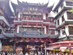 上海「豫園商城」スマホ画像