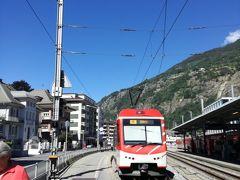 ミラノ→Brig経由→ツェルマット EC32号。