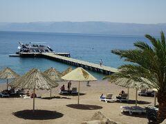 4年振りのヨルダン・1年振りのイスラエル ③ Aqaba BERNICE BEACH CLUBE