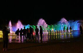 2014年4月 ビートルで行く韓国・釜山3日間 美味しい物を食べよう!(1)多大浦海水浴場の光と音楽の噴水編