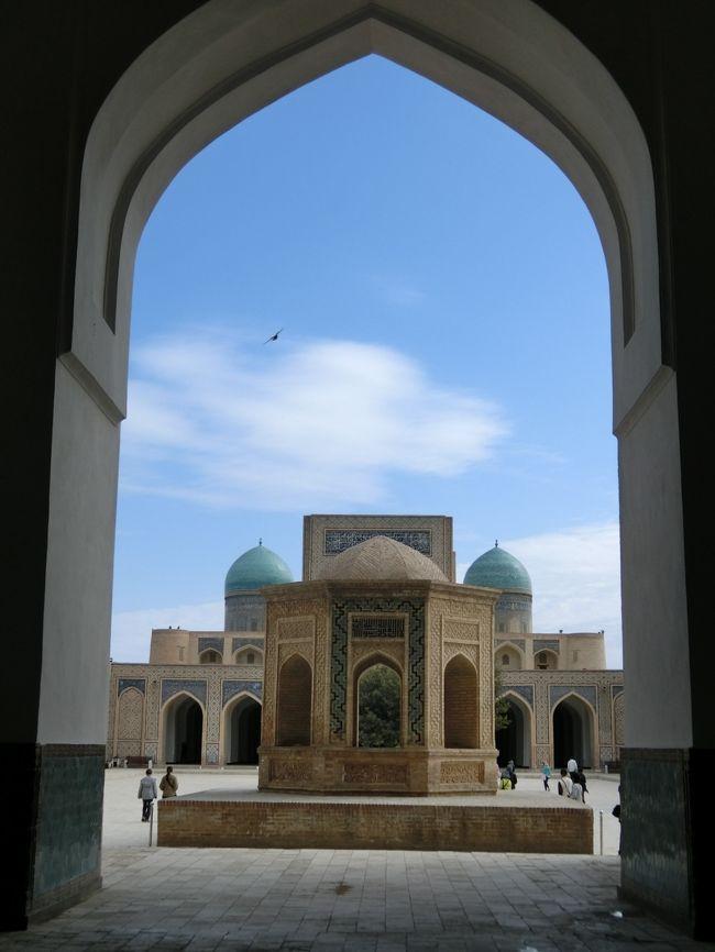 チャーター便直行便で行くウズベキスタン周遊の旅 8 ブハラ ①