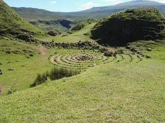 7/2 ヨーロッパ周遊30日間。スカイ島の妖精の谷。最高な景色