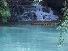 想像していたよりキレイだった「クアンシーの滝」水着を持っていって泳げばよかったかな?