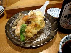 土曜日のお昼、天ぷらめしを食べに日本橋 金子半之助へ行ってきました。