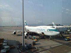 キャセイパシフィック航空B747ビジネスクラス搭乗記 香港~羽田・THE WING(HKG)・添好運
