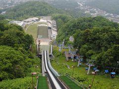 札幌へ! その9  大倉山シャンツェをリフトで上がりました。