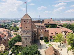 ニュルンベルク:お城と教会が楽しい街[2018年7月ヨーロッパ旅行10]
