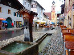 可愛い街並みと街までの景色がいい、芸術的壁画のあるミッテンヴァルト Mittenwald