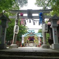 身近な神社に参拝(多摩川浅間神社)