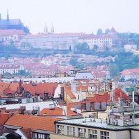 中欧の古都巡り新婚旅行その3プラハ市内観光後ベルビューでプラハ城の夜景見ながらディナー編