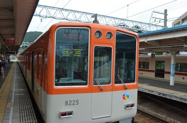 四日からの大雨で、各交通機関も大きな影響を受けました。神戸市の西代から姫路までの区間を走る山陽電車も、土砂崩れで須磨と霞ヶ丘間が不通になりました。八日午前中は須磨と霞ヶ丘で折り返し運転をしていましたが、午後から復旧しました。