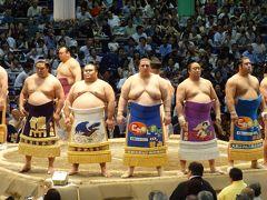大相撲名古屋場所。子供の時以来の実戦観戦です。