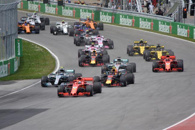 F1 カナダGP 2018』モントリオー...