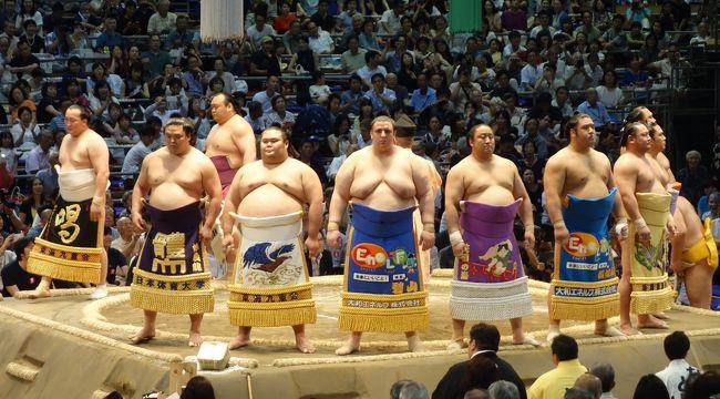 大相撲名古屋場所。好取組でわきました。