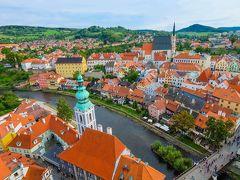 中欧の古都巡り新婚旅行その4おとぎの国の世界遺産チェスキー・クルムロフ満喫編