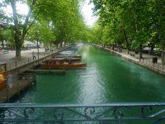フランス・ドライブ 3,236km - #6 : アヌシー 愛の橋、美しい湖と旧市街